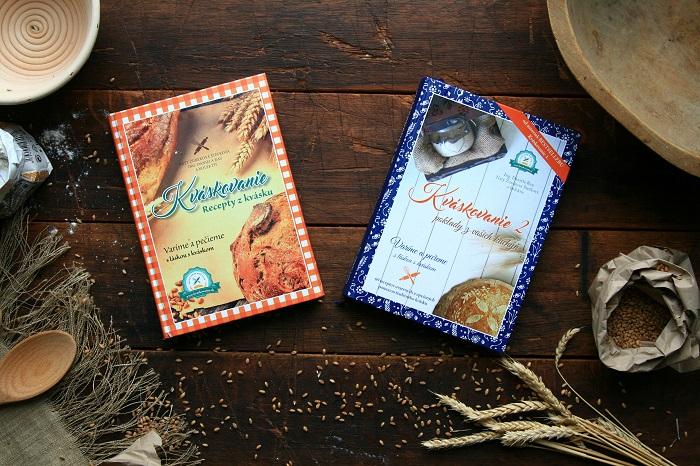 7. cena Knižné Bestsellery Kváskovanie 1 a 2